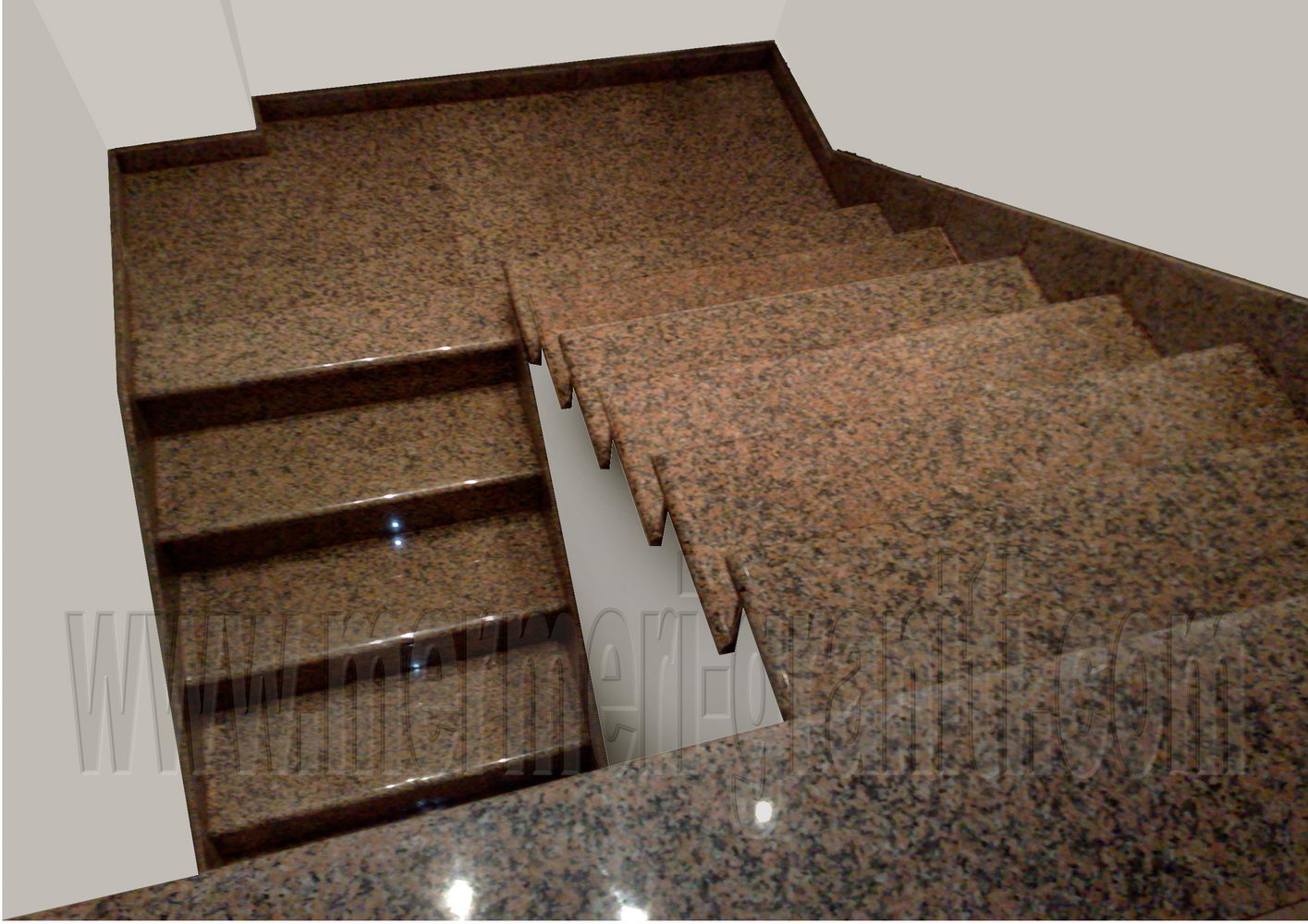 Stepenice od mermera i granita 02